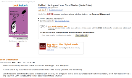 Halibut on Amazon