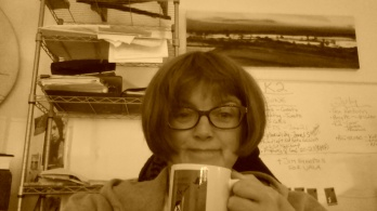 Carla at Desk